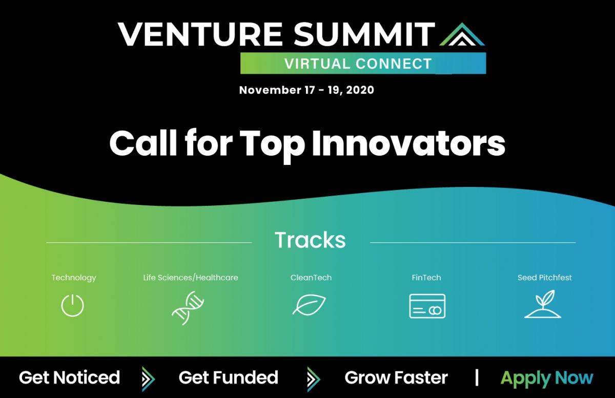 Register for the Venture Summit Virtual Connect